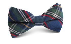 Green Scottish Kilt Bow Tie