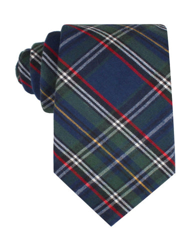 Green Scottish Kilt Tie
