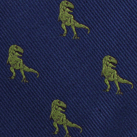 Green T-Rex Dinosaur Kids Bow Tie