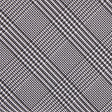 Grey Glen Plaid Fabric Skinny Tie M108
