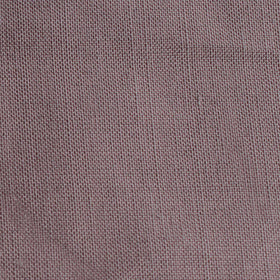Grey Slub Linen Pocket Square