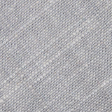Grey Worm Slub Linen Fabric Pocket Square