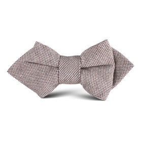 Greyjoy Sharkin Linen Kids Diamond Bow Tie
