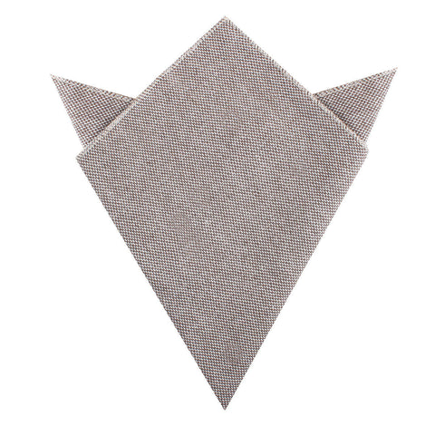 Greyjoy Sharkin Linen Pocket Square