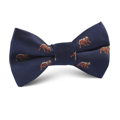 Grizzly Bear Kids Bow Tie