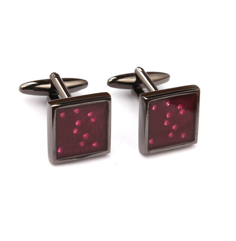 Gun and Ruby Cufflinks