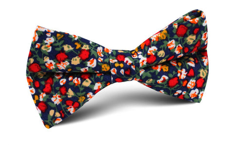 Hanoi Red Rose Bow Tie