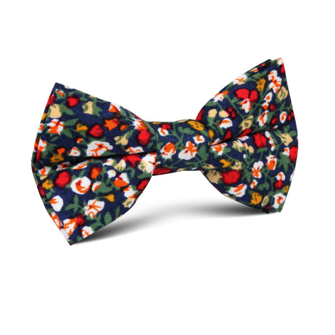 Hanoi Red Rose Kids Bow Tie