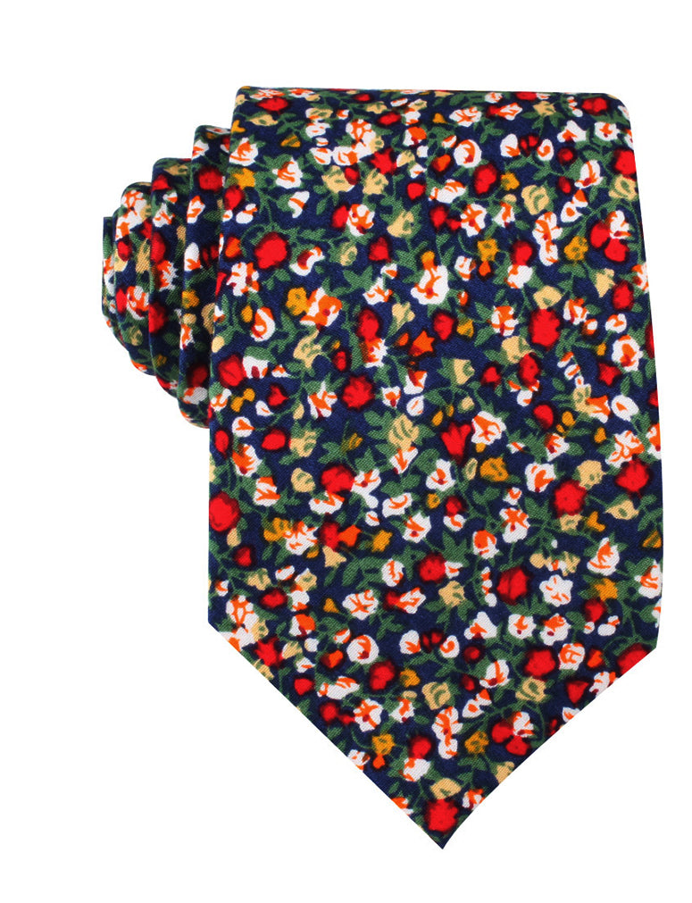 Hanoi Red Rose Necktie