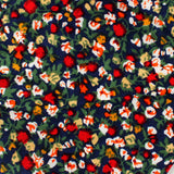 Hanoi Red Rose Necktie Fabric