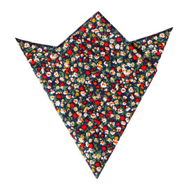 Hanoi Red Rose Pocket Square