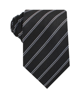 Harlem Black Striped Necktie