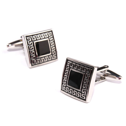 Harrison Ford Black Maze Cufflinks