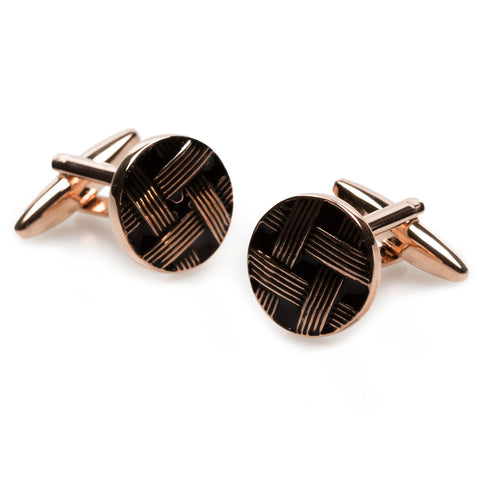 Henri Matisse Rose Gold Cufflinks