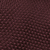 Hiraeth Brown Knitted Tie Fabric