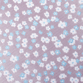 Hitachi Seaside Blue and White Floral Kids Bow Tie