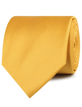 Honey Gold Yellow Twill Necktie
