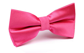 Hot Pink Bow Tie