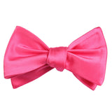 Hot Pink Bow Tie Untied Self tied knot by OTAA