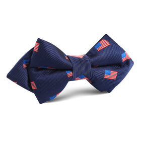 House of Cards Diamond Bow Tie