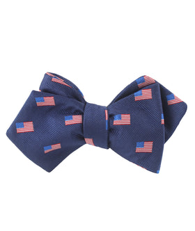 House of Cards Diamond Self Bow Tie
