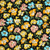 Huelva Yellow Floral Kids Bow Tie Fabric