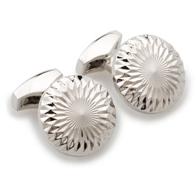 Illusionist Silver Cufflinks