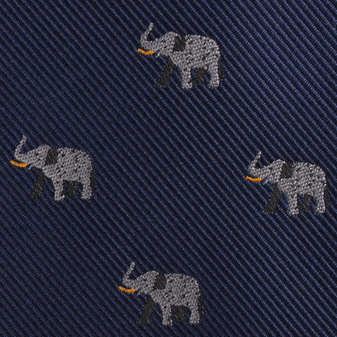 Indian Elephant Kids Diamond Bow Tie