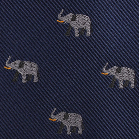 Indian Elephant Diamond Bow Tie