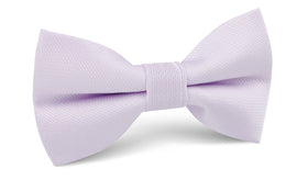 Iris Lilac Purple Weave Bow Tie