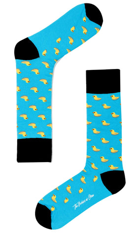 Island Blue Duck Socks