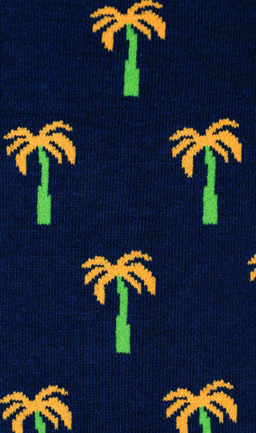 Island Palm Tree Socks
