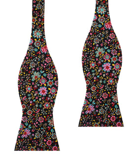 Istanbul Floral Self Bow Tie
