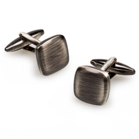 J. K. Simmons Antique Silver Cufflinks