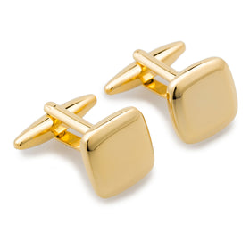 J. K. Simmons Gold Cufflinks