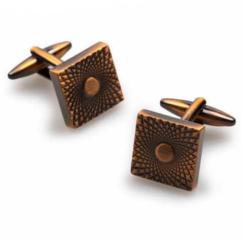 James Bond Antique Copper Cufflinks
