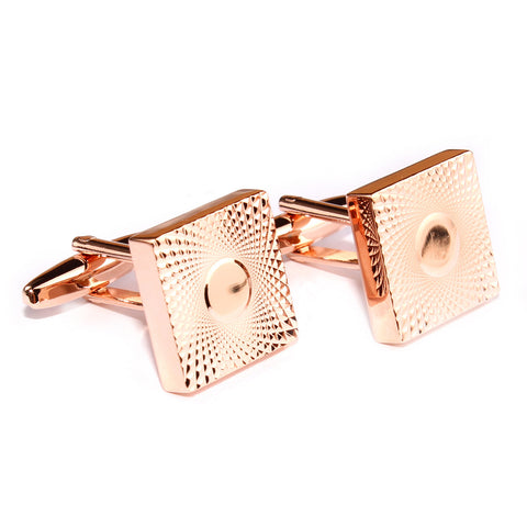 James Bond Rose Gold Cufflinks