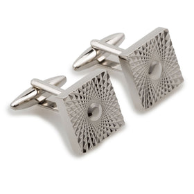 James Bond Silver Cufflinks