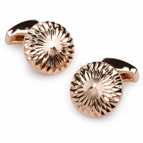 James Clerk Maxwell Rose Gold Cufflinks
