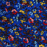 Jardin Majorelle Floral Bow Tie Fabric