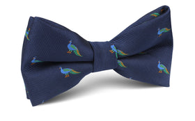 Java Peacock Bow Tie