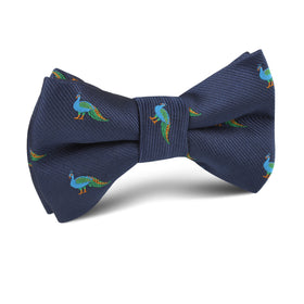 Java Peacock Kids Bow Tie