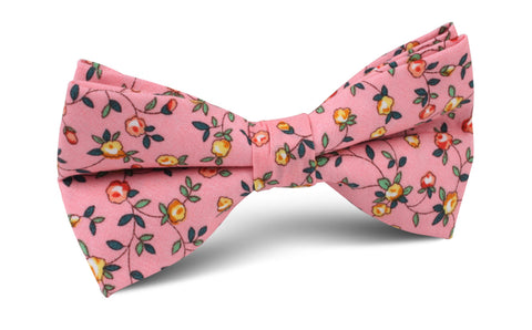 Je Suis Malade Floral Bow Tie