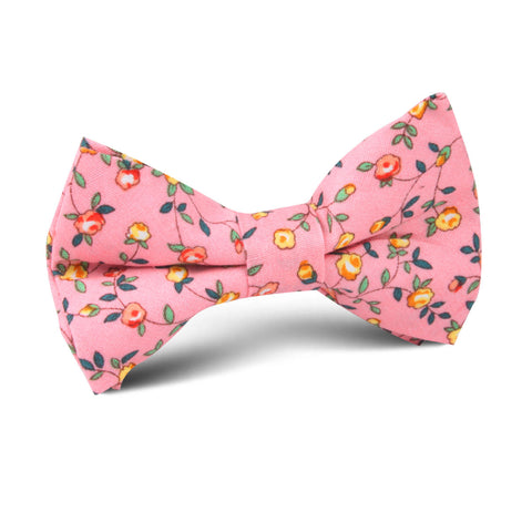Je Suis Malade Floral Kids Bow Tie