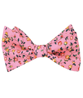 Je Suis Malade Floral Self Bow Tie