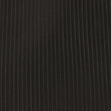 Jet Black Stripes Fabric Pocket Square X937