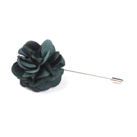 Jezabeel Blue Lapel Flower