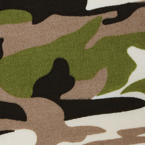 Jungle Green Camo Pocket Square