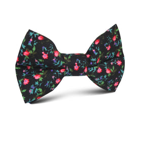 Kenrokuen Japanese Flower Kids Bow Tie