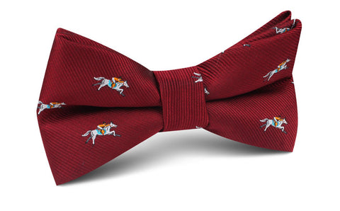 Kentucky Derby Race Horse Bow Tie